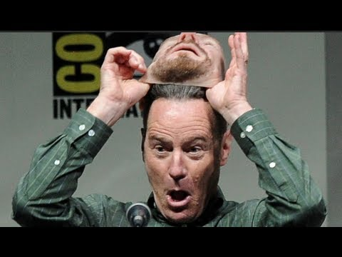 'Breaking Bad' Actor Bryan Cranston's Brilliant Disguise at Comic Con
