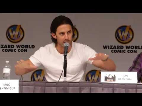 Milo Ventimiglia & Jon Bernthal Panel @ Wizard World Comic Con Saint Louis