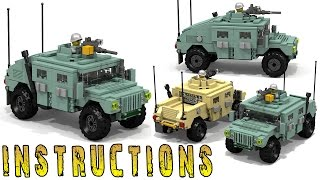 How To Build Lego HUMVEE