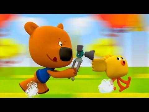 Познавательный мультфильм для детей - Ми-Ми-Мишки - Фотоохота