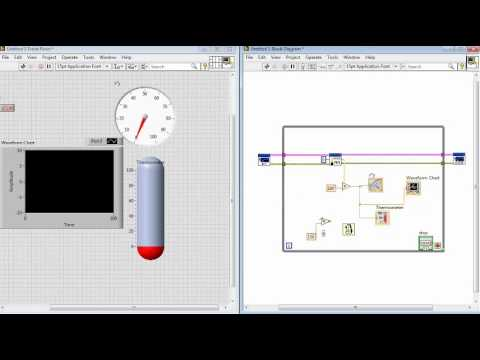 Sensor de temperatura con LM35 Arduino, Labview y