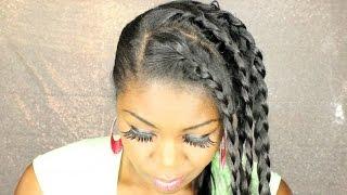 Hemp seed oil  - straight hair maintenance - black girl who can't braid