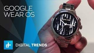 Google Wear OS - Hands On at IFA 2018