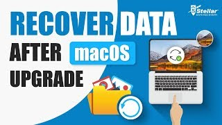 How to recover data lost due to macOS Upgrade or installation?