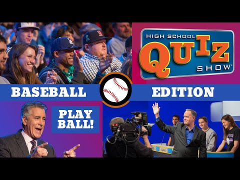 High School Quiz Show: Baseball Edition
