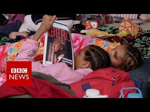 The migrant caravan Trump keeps referencing - BBC News