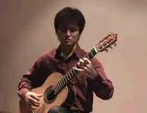 IKEDA Shinji plays Fuoco by Roland DYENS