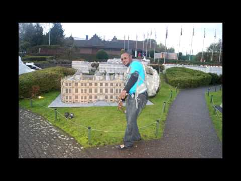 Prophet Diallo's historic visit to Mini-Europe perfect replicas Monument in Brussels