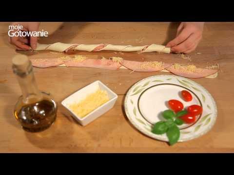 Jak zrobić zawijasy z szynki i ciasta francuskiego