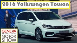 2016 Volkswagen Touran, live photos at 2015 Geneva Motor Show