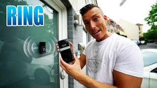 RING DIE TÜRKLINGEL DER ZUKUNFT? | Ring Video Doorbell 2 Unboxing - Review - Test [Deutsch/German]