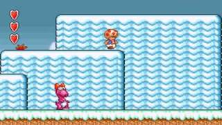 Super Mario Bros.2 (SNES) World 4