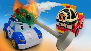 Про машинки Робокар Поли - Мультик из игрушек. Сказки для детей с машинками Робокар