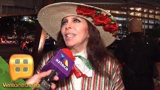 ¡Verónica y Cristian Castro invitados de lujo del Canelo en Las Vegas! | Ventaneando