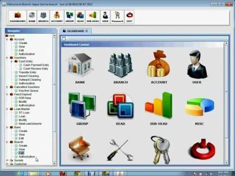 Bank Software  - B R  Softech