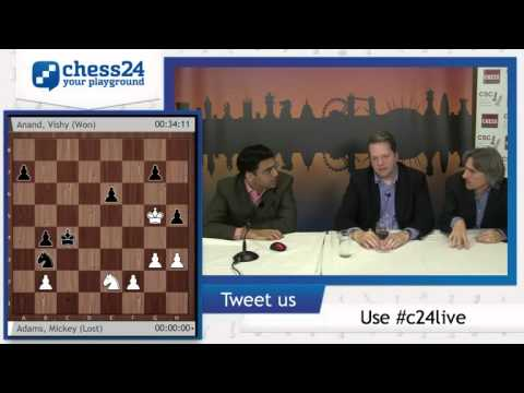 13 - Post conference: Anand beats Adams and wins the tournament - London Chess Classic 2014