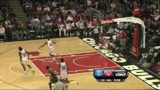 Marcin Gortat dunk against Bulls
