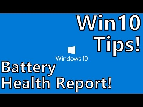 Windows 10 Tips: How to Generate a Battery Health Report on Your Laptop or Tablet