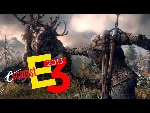 THE WITCHER 3 PREVIEW E3 2013 (Escapist News Now)