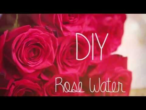 How to make Rose Water ♥ DIY
