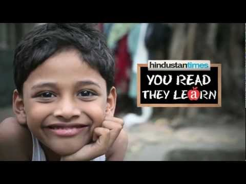 HINDUSTAN TIMES You Read They Learn initiative - ABC (winner...