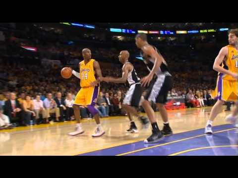 2008 WCF - San Antonio Spurs vs Los Angeles Lakers - Game 5 Best Plays
