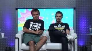 Benjamín Rojas y Felipe Colombo, dos músicos en acción