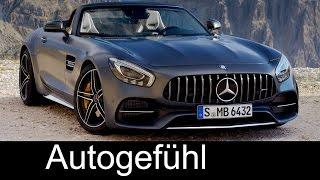 New Mercedes-AMG GT Roadster & GT C Roadster Sound/Exterior/Interior Preview Neu
