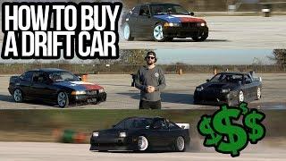 HOW TO BUY A DRIFT CAR!