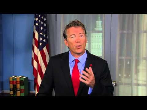 Watch Sen. Rand Paul  Respond to President Obama's Speech on  Syria