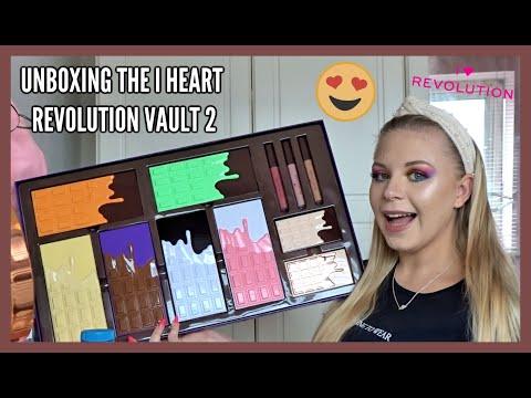 UNBOXING THE I HEART REVOLUTION VAULT 2 | CHRISTMAS GIFT SET 2019