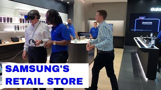 Inside Look at Samsung's First Retail Store