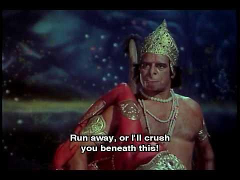 Hanuman Shani Battle