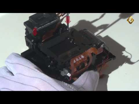 Canon 50D - замена затвора в зеркальном фотоаппарате