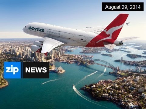 Qantas Shocks With $2.5BN Loss - August 29, 2014