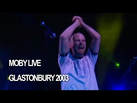Moby 'Go' Live at Glastonbury