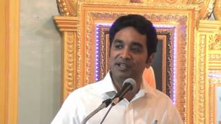SAMARPAN # 8: November 2015: Talk by Brother Ashwin Venkateshwaran