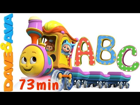 Watching video Learn Colors, Numbers and ABCs. ABC Songs for Kids. Alphabet Song. Nursery Rhymes from Dave and Ava