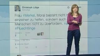 """""""So langsam wird aus Angst Panik"""": Nutzer kommentieren das Merkel-Interview bei Anne Will"""