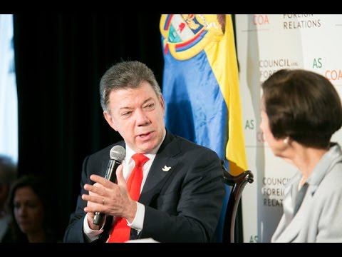 Colombian President Santos on Peace Talks and Rolling Back Poverty
