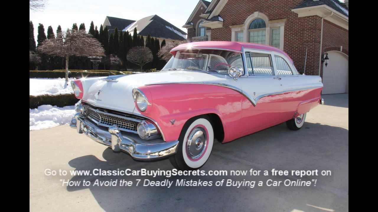 1955 Ford Custom Classic Muscle Car For Sale In Mi Vanguard Motor Sales Youtube