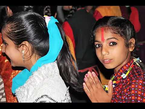 Dancing In The Streets During Nepal's Tihar Festival video