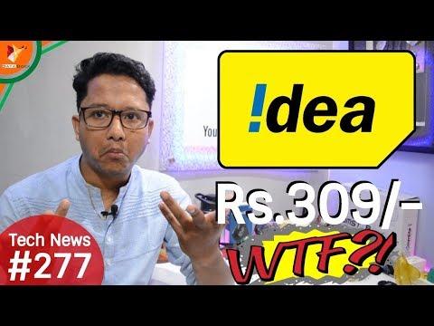 Tech News of The Day #277 - IDEA 309,Intex ELYT e6,Android Oreo,Audio Technica,Nokia 5 Oreo