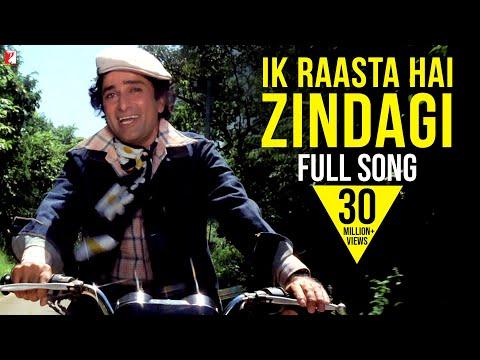 Ik Raasta Hai Zindagi - Full Song HD | Kaala Patthar | Shashi Kapoor