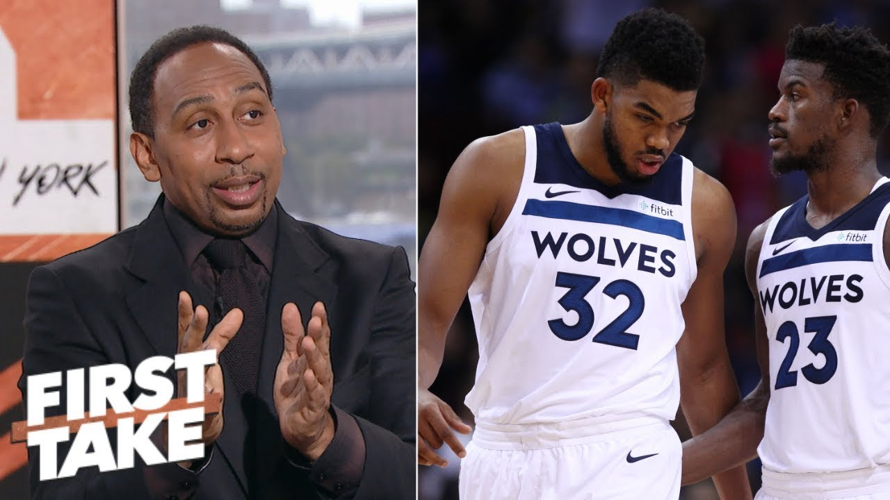 Stephen A.: Butler questions the heart of Towns and Wiggins | First Take