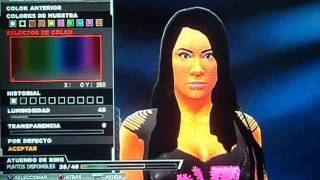 Wwe 2k15 - Aj Lee Caw Formula - Credits George Kills