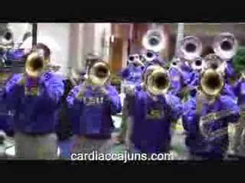 LSU Band Neck LSU Women's Basketball Send Off Video