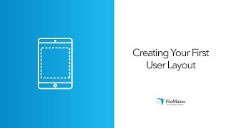 Quickly Create a Custom App with FileMaker 15