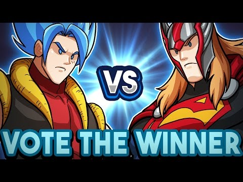 Goffu vs SuperThor Trailer [ Vote The Winner! ]