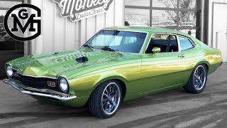 Gas Monkey - '74 Mercury Comet - T-Tops With Tony Taylor